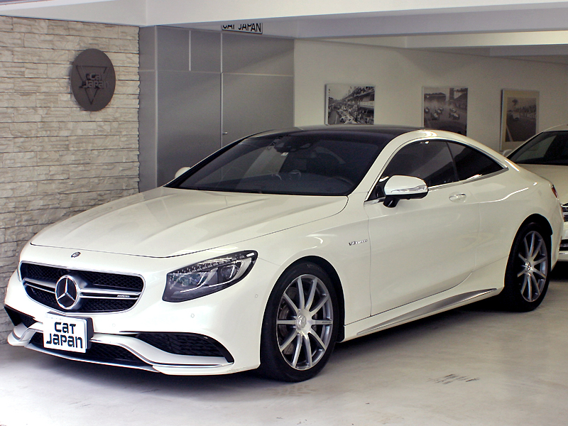 Mercedes Benz S63クーペ AMG 4MATIC